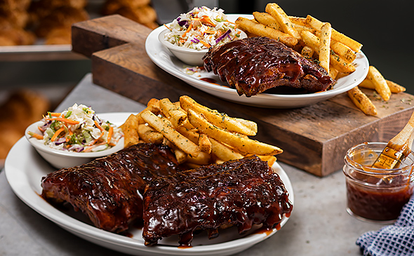 House Smoked Baby Back Ribs Menu Cheddars Scratch Kitchen